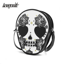 Bags Women Skull Head Shoulder Crossbody Small Personalized Messenger Ba... - $15.42