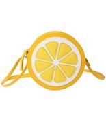 N pattern zipper shoulder dual purpose mini bags cute yellow lemon mini crossbody bags thumbtall