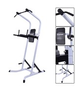 Costway Chin Up Stand Pull Up Bar Dip Power Tow... - $147.01