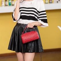 Rivet Baguette Lady Messenger Bag Shoulder Bag Girls Handbag Feminina Wo... - $40.62