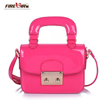 Patent leather handbags Mini Shoulder Messenger Bag H222 - $46.93