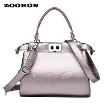 Women Boston Bag Hand Shoulder Slope Across Bags Women PU Leather Handba... - ₨3,184.83 INR