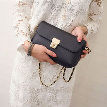 Women Flap Leather Handbag Purse Casual Lock s Shoulder Messenger Bag Co... - $28.24