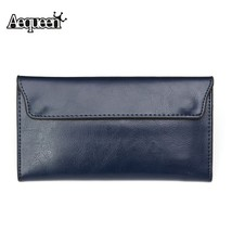 Genuine Leather Vintage Women Wallet Soft Long Female Purse Cowhide mult... - $30.92