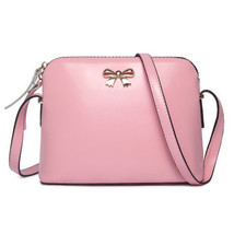 bowknot shoulder bag style women leather should... - $33.50