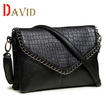 Women messenger bags Crocodile small bag clutch shoulder bags dollar pri... - $36.15