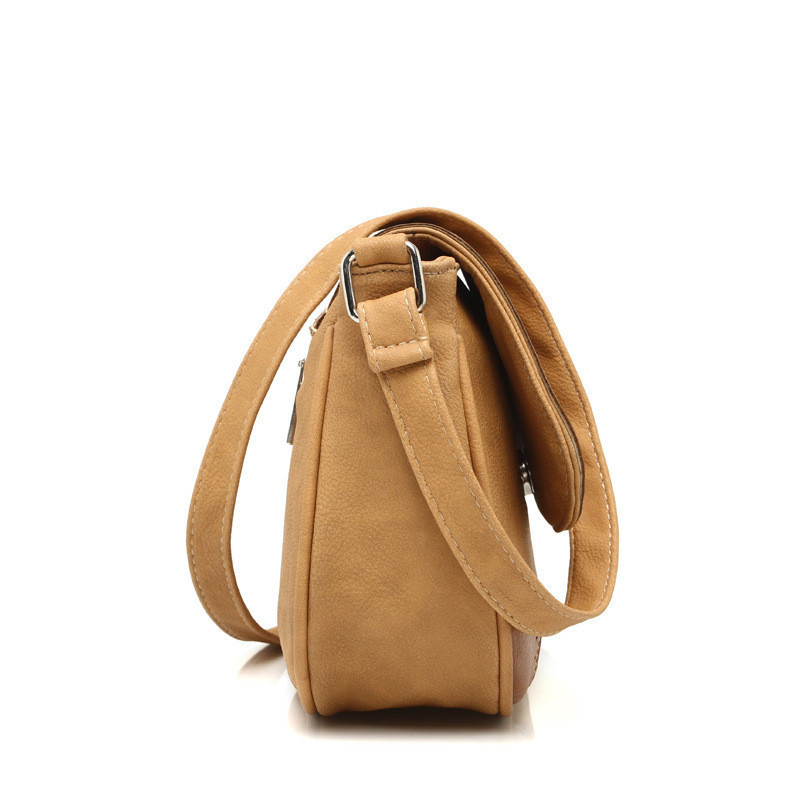 Creative Women Messenger Bag Female Hollow Out Saddle Bag PU Fahsion Ladies
