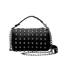 tide cool punk women one shoulder bags womencro... - $40.23