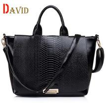 Alligator womens handbags large messenger bags for women Composite Leath... - $50.95