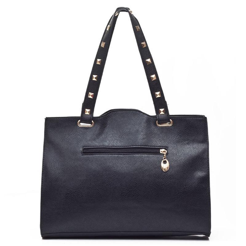 american fashion women leather handbags rivet messenger bag handbags 2015 bolsos carteras mujer