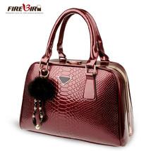 women leather handbagsAlligator grain handbags feminina H317 - $76.26