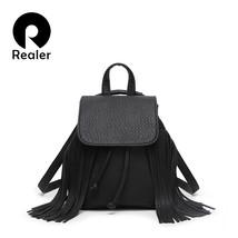Tassel Women Backpack For Teens&Girls PU Leathe... - $82.13