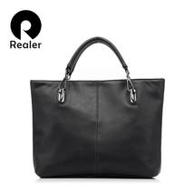 Women Tote Bag PU Leather Women Solid Bag Ladies Handbag - $84.16