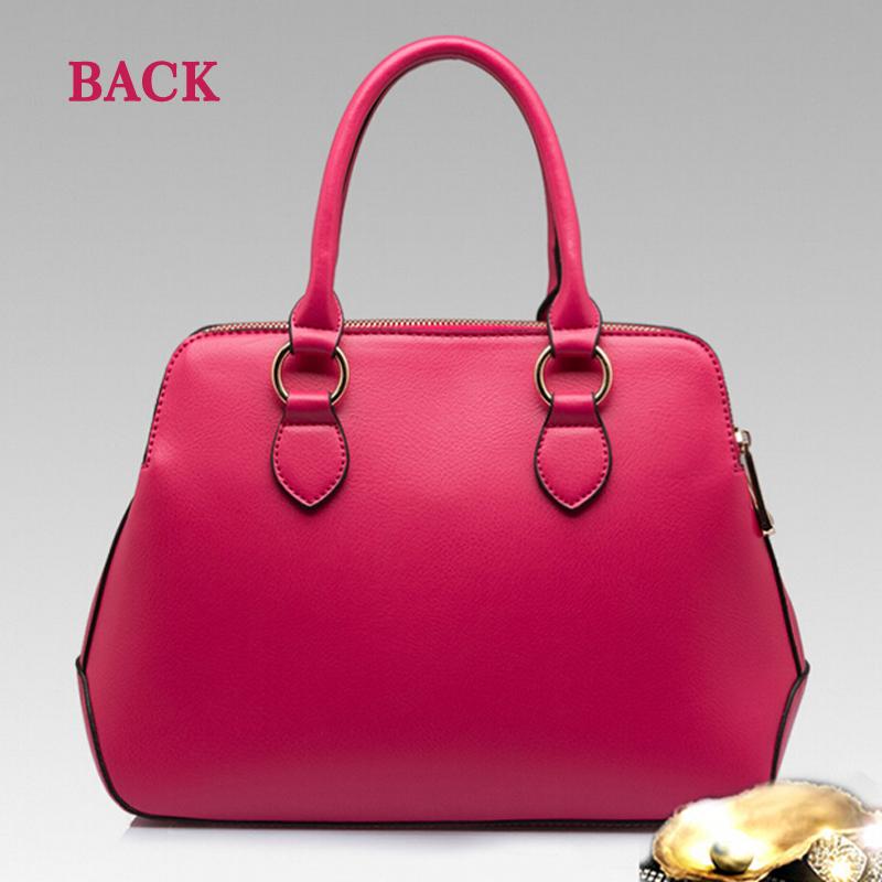 ladies handbags PU leather Simple Shoulder Messenger Bag H206