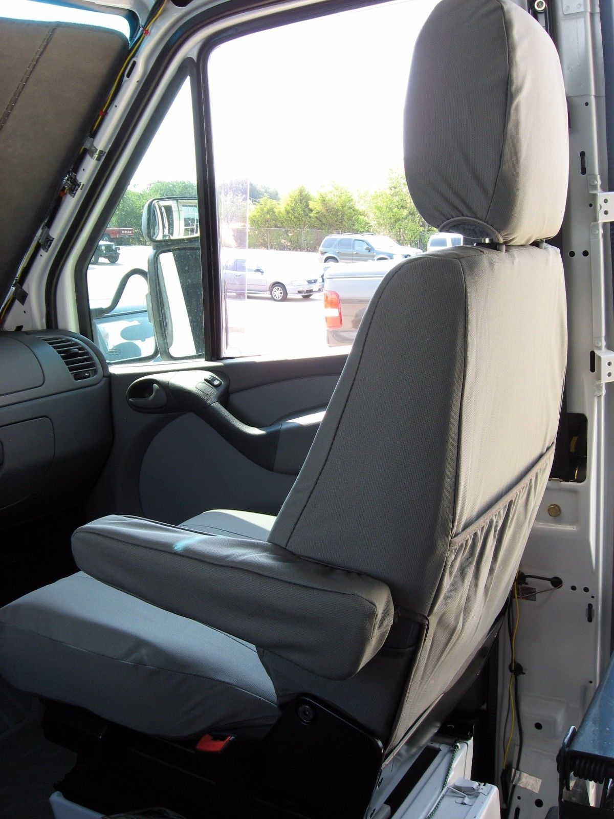 2002 2011 dodge sprinter passenger van front bucket seats waterproof seat covers seat covers. Black Bedroom Furniture Sets. Home Design Ideas