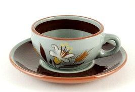 Stangl Pottery Golden Harvest Cup & Saucer Excellent - $8.00