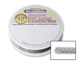 Beadalon Stringing Wire 19Strand 015Inch 38Mill... - $15.28