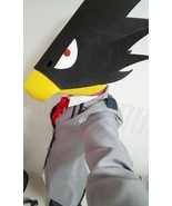 My hero academia fumikage tokoyami bird head cosplay mask for sale thumbtall