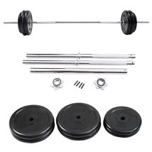 125 LB Barbell Dumbbell Weight Set Lift Exercis... - $147.01