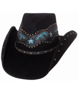 Bullhide One Dance Wool Felt Cowgirl Turqouise ... - $75.00