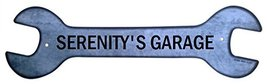 Personalized Metal Wrench Sign - Serenity's Gar... - $16.99