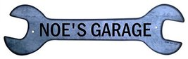 Personalized Metal Wrench Sign - Noe's Garage -... - $16.99