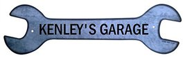 Personalized Metal Wrench Sign - Kenley's Garag... - $16.99