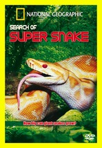 Search For The Super Snake :DVD National Geographic Documentary Shipping... - $17.97