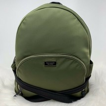 Kate Spade Dawn Large Backpack Sapling Green Nylon Bag Authentic Retails... - $130.00