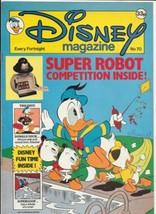 Disney Magazine #70 UK London Editions 1986 Color Comic Stories VERY FINE+ - $10.69