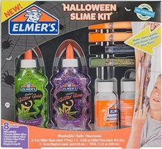 Elmer's Halloween Slime Kit, Glitter Glue, Glitter Pens & Magical Liquid... - £18.74 GBP+