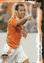 Brian Mullan 2009 Upper Deck Soccer Card #31 - $0.99