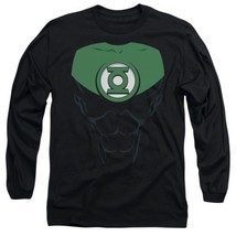 Official DC's Green Lantern Jon Stewart Logo Costume Uniform Outfit L/S T-shirt - $26.99+
