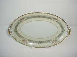 Meito Ivory China Empire Shape Dexter Serving Platter Occupied Japan Vin... - $14.80