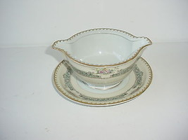 Meito Ivory China Empire Shape Dexter Gravy Boat Occupied Japan Vintage - $14.80
