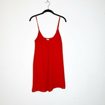 Tobi womens top S spaghetti strap red scoop neck sleeveless casual comfo... - $14.99