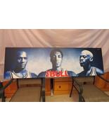 Chicago Bulls Poster-No Bull by Nike Jordan Pippen and Rodman -Mounted o... - $550.00