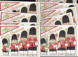1983 vintage Cara Goldberg Marks British Palace Guard BEARS Christmas Ca... - $19.99