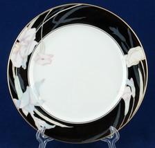 "Mikasa Charisma Black 7.5"" Salad/Dessert Plates Fine China L9050 - $5.00"