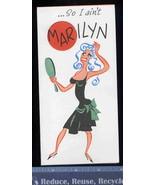 Vintage MARILYN Monroe,  Marlon BRANDO, Funny Greeting Card- Old Stock U... - $9.65