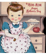 Vintage to Mom-Mom gReeTinG CARD - oLd stOcK Unused Mothers Day Mom Mama... - $9.45