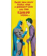 1978 BATMAN JOKER Birthday  Studio Greeting Card Vintage- Old Stock Supe... - $9.95