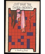1961 vintage Crossword Puzzle Booklet Greeting Card - Get Well lingerie-... - $9.80