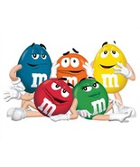 M&M'S CANDY Cross Stitch Pattern***LOOK*** - $4.95