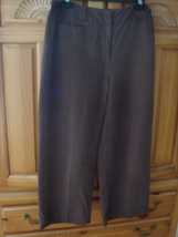 Women's Brown Drawstring Capris Size Small By Yanai Fugel - $34.99