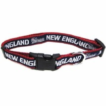 New England Patriots NFL Adjustable Nylon Dog C... - $11.99