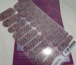 Jamberry Simply Sweet 0316 70T9 Heat Activated Nail Wrap Full Sheet - $15.98