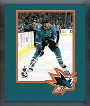 Joe Pavelski 2017-18 Sharks Playoffs -11x14 Team Logo Matted/Framed Photo - $43.95