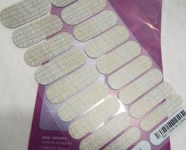 Jamberry Creme De La Creme 49U7 Heat Activated Nail Wrap (Full Sheet) - $15.98