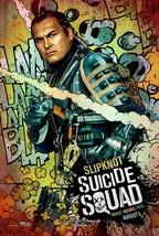 suicide squad movie poster (24x36) - slipknot, adam beach, harley quinn - $28.89